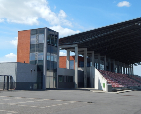 MOUSCRON – Tribune d'Athlétisme